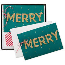 merry banner christmas cards box of 8 boxed cards hallmark