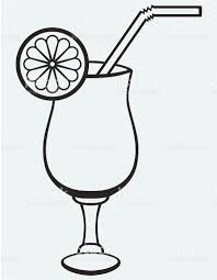 cosmopolitan drink clipart symbol cocktail stock vector art 452113797 istock