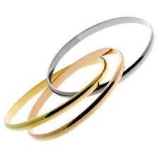 multi tone gold bracelet images Cartier trinity bangle multitone gold bracelet opulent jewelers jpg