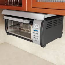 under cabinet appliances kitchen black decker spacemaker toaster oven black and stainless
