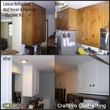 chatham nj renovation kitchen cabinet refinishing u0026 painting