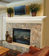 architecture beautiful gypsum fireplace mantle with green wall