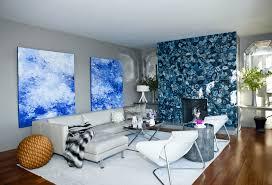 Modern Blue Living Room by 21 Modern Living Room Design Ideas