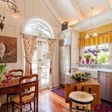Kitchen Bay Window Curtains by Kitchen Bay Window Curtain Ideas 4342 Home And Garden Photo
