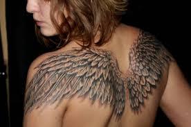 wings designs for wings back
