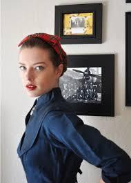 1950s headband 50 s headband allfreesewing