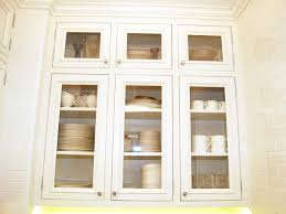 Glass Cabinet Kitchen Replacement Kitchen Cabinet Doors Glass Front Alkamedia Com