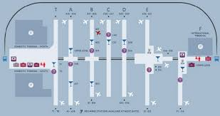 atlanta international airport map airport cardio hoofing it to the gate travelskills