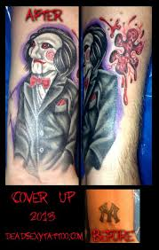 monkey tattoos the puppet and ann arbor on pinterest scary