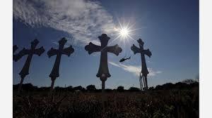 church crosses church gunman sent hostile text messages before attack