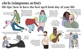 Haha Simpsons Meme - april fools chris simpsons artist know your meme
