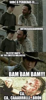 Meme Carl - la rebelión de carl