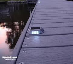 solar dock lights dock lighting and composite material boat house