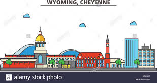 Wyoming travel icons images Downtown cheyenne wyoming stock photos downtown cheyenne wyoming jpg