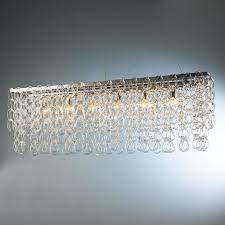 great rectangular island chandelier contemporary gold rectangular