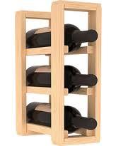 sweet deal on countertop wine rack 6 bottle holder polished