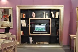 libreria tv cornice libreria tv artigianarte