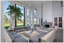 Sectional Sofa With Ottoman 50 Beautiful Living Rooms With Ottoman Coffee Tables