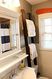 Bathroom Storage Ideas For Towels Over The Toilet Storage Ideas For Extra Space Ladder Towel Racks