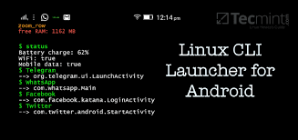 learn android linux command line shell t ui launcher turns android device into linux command line interface