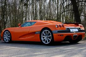 koenigsegg cc8s rear koenigsegg ccr orange