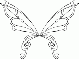 angel wings coloring pages print kids coloring