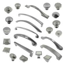 brushed nickel cabinet hardware ebay