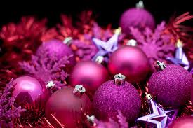 photos hgtv reflective purple tree ornaments idolza