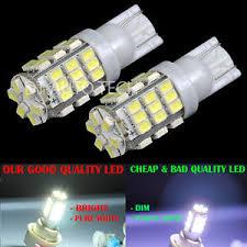 4x t10 921 194 rv trailer 12v led lights bulbs 42 smd xenon 6000k