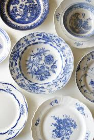113 best blue and white plate decor images on white
