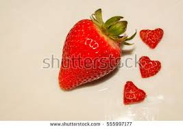 s day strawberries strawberry heart stock images royalty free images vectors