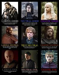 Alignment Meme - game of thrones character alignment imgur
