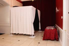 photo booth enclosure our enclosed photo booth option