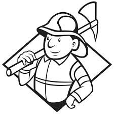 train hat coloring page firefighter hat coloring page fireman pages printable medium size of