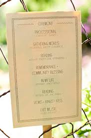 Example Of Wedding Programs Wedding Invitation Samples Perfect Wedding Guide