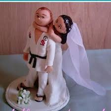 karate cake topper i would just to do it visa versa where the is the one