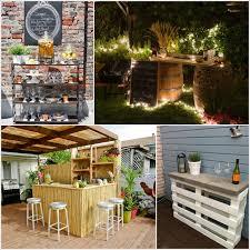 outdoor bar ideas creative and low budget diy outdoor bar ideas diy smartly