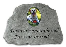 headstones for dogs memorialize the of your pet with a pet headstone