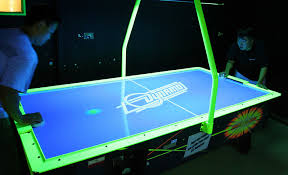 hockey time air hockey table hawaiian bowling it services