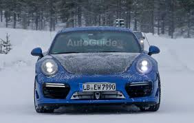 porsche 911 snow porsche 911 gt2 rs mule spied testing in the snow autoguide com news