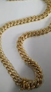 mens cuban link necklace images Fashion jewelry gold mens cz diamond paved iced out miami cuban jpg
