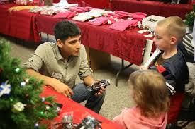 marine children give through community program u003e 1st marine
