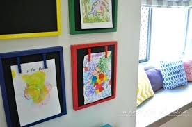 home interior design books display gallery wall with chalkboard frames click to