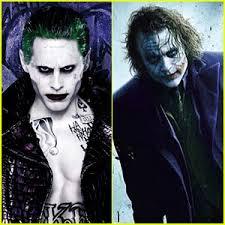 Heath Ledger Joker Halloween Costume Jared Leto Speaks Heath Ledger U0027s Joker Gave U0027perfect