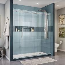 Glass Showers Doors Cool Sliding Glass Shower Doors Adeltmechanical Door Ideas