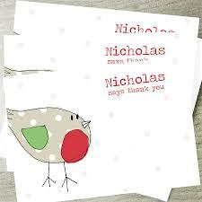 kids christmas thank you cards christmas cards ideas