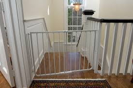 Baby Gate For Top Of Stairs With Banister Stairway Special Safety Gate Baby Gates Cardinal Gates