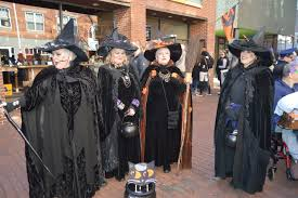 history of halloween and salem massachusetts