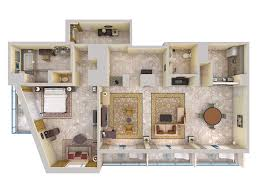 View House Plans by 3d Floor Plans Excellent D Plan Sample C With 3d Floor Plans