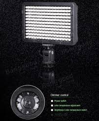 tolifo pt 176s led camera video light bi color temperature